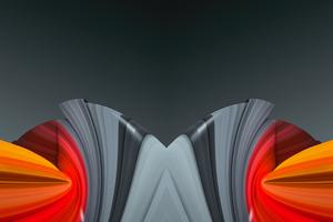 3d Shapes Art Motion 4k