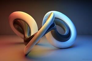 3D Shapes Wallpaper