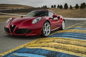 4C Alfa Romeo Wallpaper