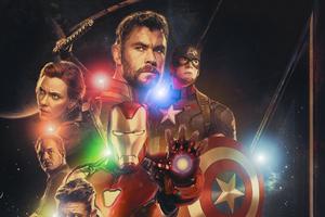 4k 2019 Avengers Endgame