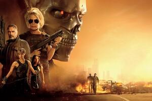 4k 2019 Terminator Dark Fate Movie Wallpaper