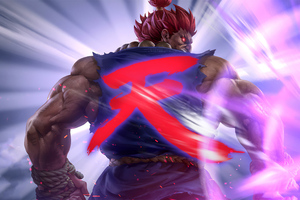 4k Artwork Akuma Street Fighter Wallpaper
