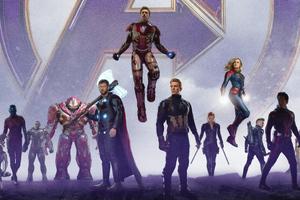 4k Avengers Endgame 2019 Wallpaper