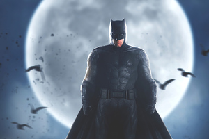 4k Batman Affleck Wallpaper