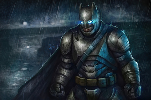 4k Batman Armour Artwork Wallpaper