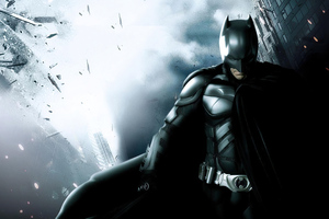 4k Batman Hero Wallpaper