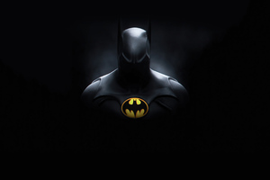 4k Batman Michael Keaton Wallpaper