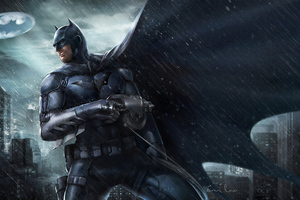 4k Batman New Artwork Wallpaper