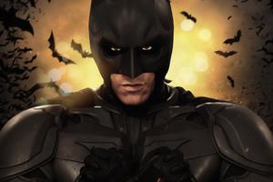 4k Batman The Dark Knight Art