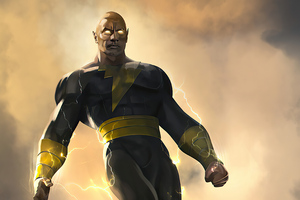4k Black Adam Rock 2020