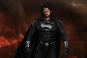 4k Black Superman