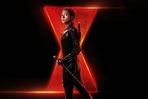 4k Black Widow 2020 Poster Wallpaper