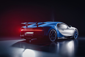 4k Bugatti Chiron 2020