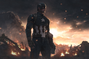 4k Captain America 2020 Artwork Wallpaper