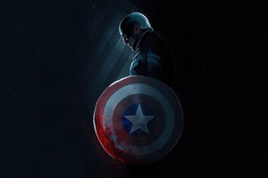 4k Captain America Art 2020 Wallpaper