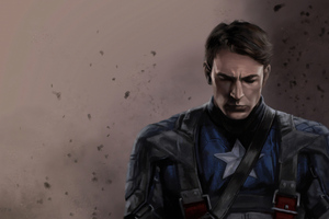 4k Captain America Art