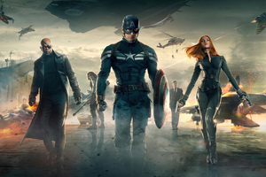 4k Captain America The Winter Soilder Movie Wallpaper