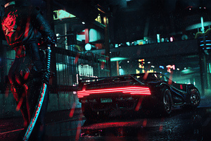 4k Cyberpunk 2077 Ps Game
