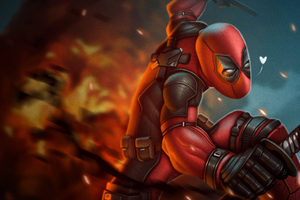 4k Deadpool Art