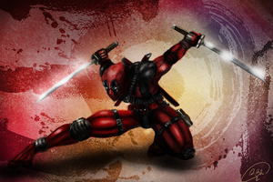 4k Deadpool Artwork