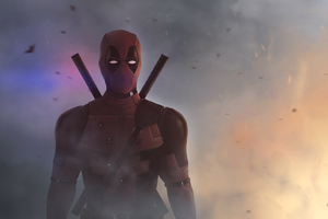 4k Deadpool Digital Artwork Wallpaper