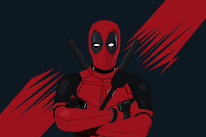 4k Deadpool Minimal 2019 Wallpaper