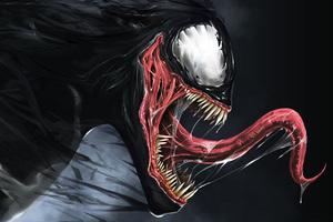 4k Digital Art Venom