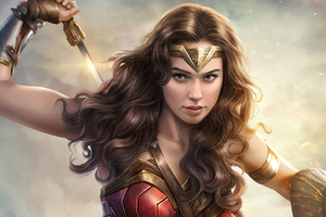 4k Gal Gadot Wonder Woman Wallpaper