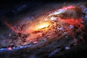 4k Galaxy Space