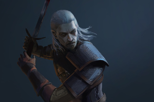 4k Geralt Of Rivia Wallpaper