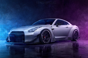 4k Grey Nissan Gtr 2020 Wallpaper