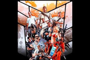 4k Gta 5 Poster