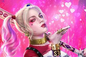 4k Harley Quinn Art