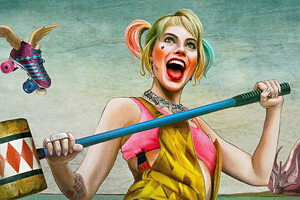 4k Harley Quinn Birds Of Prey Wallpaper