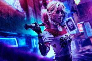 4k Harley Quinn Cosplay Wallpaper