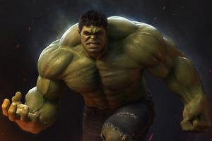 4k Hulk Wallpaper