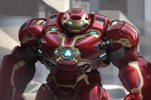 4k Hulkbuster Artwork