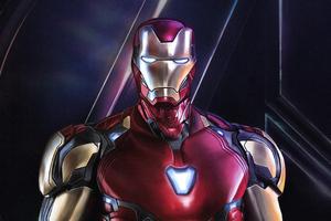 4k Iron Man Avengers Endgame Wallpaper