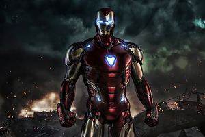 4k Iron Man Endgame 2020