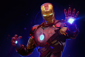 4k Iron Man Holographic 2020
