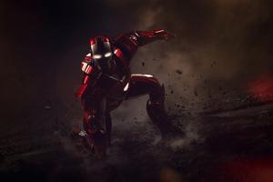 4k Iron Man New Art