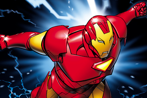 4k Iron Man New Artwork Wallpaper