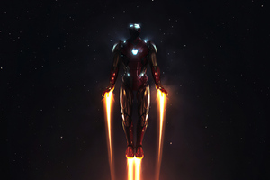 4k Iron Man Take Flight Wallpaper