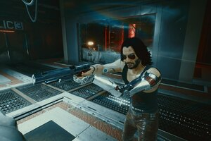 4k Johnny Silverhand Cyberpunk 2077 New Game