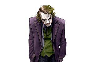 4k Joker Artwork