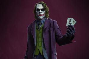 4k Joker Card Wallpaper