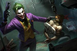 4k Joker King Wallpaper
