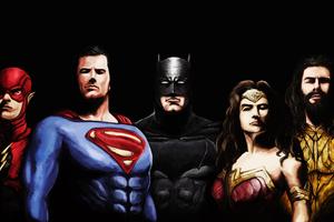 4k Justice League Art