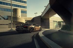 4k Lamborghini Aventardor SVJ 2020