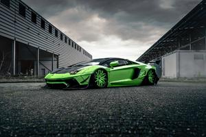 4k Lamborghini Huracan Liberty Walk